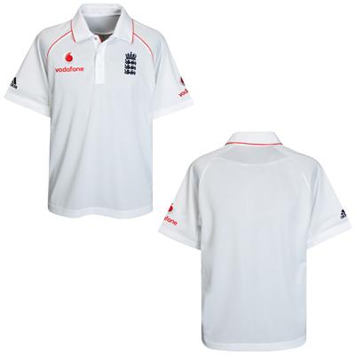 England Cricket test match shirt